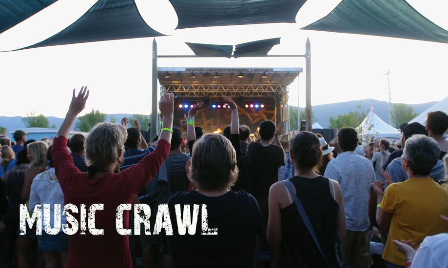 Musical Crawl Membership Appreciation Concert Thursday August 18, 2016