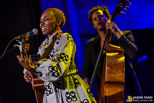 2014.01.17: Naomi Wachira @ The Neptune Theatre, Seattle, WA